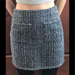 Greylin XS mini skirt in grey